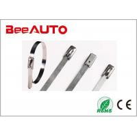 China 4.6 Series Stainless Steel Cable Tie Rustproof 4.6 * 100mm Working Temperature - 80℃ ~ 538℃ wholesale