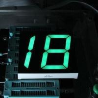 China 2.3 Inches 7 Segment LED Display in Dual Digit, Red/Yellow Green/Yellow, for Tax Station Display wholesale