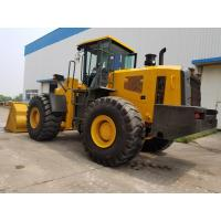 China 5 ton wheel loader heavy equipment dump truck ISO9001 Certification wholesale
