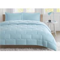 China Seersucker Warm Queen Size Down Comforter , Summer Weight Down Comforter wholesale