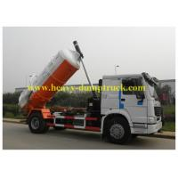 China Self dumping Sanitation Garbage Truck Sinotruk howo 6x4 336hp for city cleaning wholesale