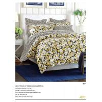 China Plain Dyed Microfiber Polyester Bed Set 100 Polyester Sheets Set / Quilt Cover Set wholesale