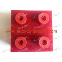 China Red Auto Cutter Bristle Nylon Bristle With Round Foot 130297 For  Vector 5000 Cutter Parts wholesale