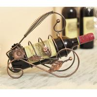 Buy cheap European wine rack craftwork Decoration from wholesalers