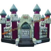 China Custom Tarpaulin Commercial Inflatable Bouncy Castle for Adults wholesale