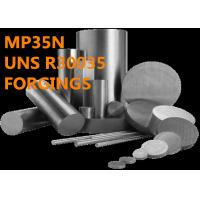 China Excellent MP35N R30035 Corrosion Resistant Alloys Ultrahigh Tensile Strength on sale