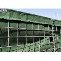 China Military Hesco Bastion Sand Filled Barriers Retaining Wall For Protection wholesale