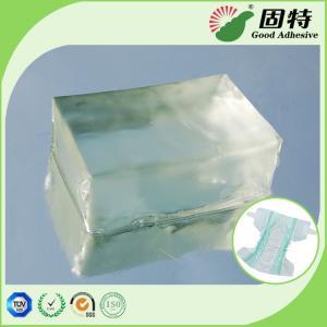 China Baby Diaper Hot Glue Adhesive , Pressure Sensitive Hot Melt Adhesive wholesale