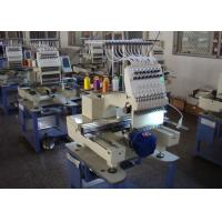 China High Speed Automatic Embroidery Machine , Multi - Languages 1 Head Embroidery Machine New wholesale