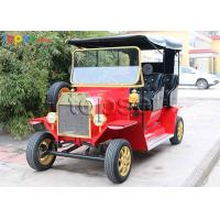 China Antique Electric Vintage Cars Classic Vintage Car Electrics Double Row on sale