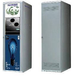 Outdoor Reverse Vending Machine Commercial Squash Plastic Bottle Recycling Machine