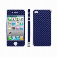 China Carbon Fiber Skin Sticker for iPhone 4/4S wholesale