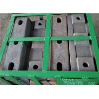 China High hardness and wear resistant High Cr Alloy Steel Casting of Lifter Bar for Mill Parts wholesale