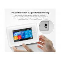 Buy cheap Full Touch Screen GSM 3G WIFI Home Security Alarm System With SOS Button from wholesalers