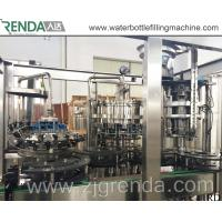 China Drink Tea Wine Beer Filling Machine Unit , POP Can Filling Equipment for Sale wholesale