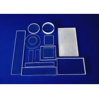 Buy cheap High Accuracy Fused Quartz Plate Customized Size Circular Square Shape Optical from wholesalers