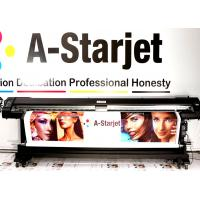 China A-Starjet Eco Solvent Double Side Printer with 2 pcs Epson DX7 head with High Resolition CMYK Color wholesale
