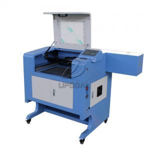 China Small 60W Acrylic Leather MDF Co2 Laser Cutting Machine 500*400mm wholesale