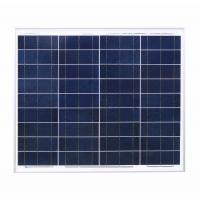 Buy cheap Aluminum 60w Crystalline Solar Panel 21.6v Circuit Voltage Low - Iron Glass from wholesalers