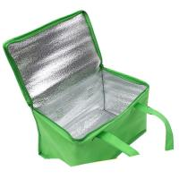 China Non-woven Material and Food Use commercial cooler bag. size:25cm*20cm*20cm wholesale