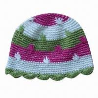 China Women's Spring Flower Hat, OEM Orders are Welcome wholesale