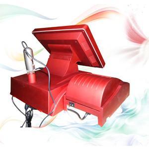 China professional Red portable Skin Analyzer Machine For testing skin age wholesale