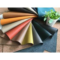 China Sustainable Leather Upholstery Fabric with natural leather fibres and water power wholesale