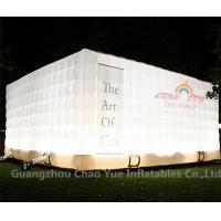 Buy cheap LED Light Cube Inflatable Tent for outdoor event from wholesalers