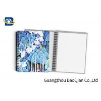 China Pretty Girl Design 3D Lenticular Notebook PET / PP / PVC Cover Material wholesale