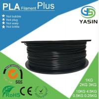 China Eco-friendly plastic raw material PLA 3d printer filament with 1.75mm 2.85mm 3mm diameter wholesale