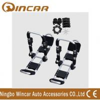 China Foldable Roof Mount Metallic White T Style Kayak Roof Carrier Rack Carring 2 Canoe wholesale