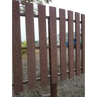 China Natural Wooden Look WPC Decking Strong WPC Rail Fence For Farm wholesale