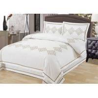 China Elegant Embroidered Modern Duvet Covers And Shams 4Pcs Twin Bed Duvet Covers wholesale