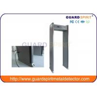 China Single Zone And Multi Zones Archway Metal Detectors Door Frame Airport Security Machines wholesale
