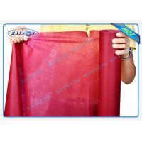 China Environmental Friendly 1.2m or 1.4m Precut PP Non Woven Tablecloth in Pantone Color wholesale