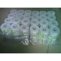 China White 36 Rolls Packing Toilet Tissue Paper Roll ,  Recycle Tissue wholesale