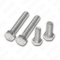 China Hexagon Head Stainless Steel Bolts And Nuts For Machine A4 70 Bolt DIN 933 wholesale