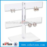 China Wholesale Cheap Cool Style Fashion Acrylic Jewelry Display, Acrylic Earring Display wholesale