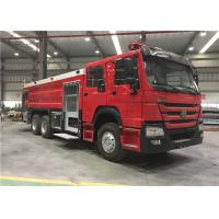 China Euro II 4x2 Sinotruk Fire Fighting Truck 7000l Water Foam Fire Rescue Truck on sale