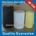 China glue acrylic hotfix tape;hotfix sticker;hot fix tape wholesale