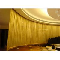 China Colorful Stainless Steel Metal Mesh Curtains Diamond Shape for Wall Decoration wholesale