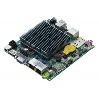 China J1900 Fanless Embedded Nano Itx Motherboard , Industrial Mainboard Support Wifi / 3g wholesale