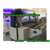 China High Productivity Tarpaulin Making Machine For PP / PE Tarpaulin Cloth wholesale