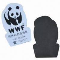 China Advertising promotional fridge magnet, made of paper with 4C printing wholesale