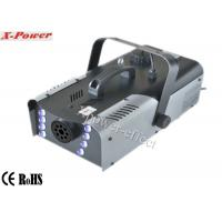 China 8*3w RGB LED Halloween Stage  Fog Machine 1200W, DMX Fog Machine  X-023 wholesale