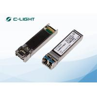 China Cisco Transceiver Compatible 10km SMF 1310nm 10GBase lr SFP+ Transceiver on sale