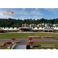 China Outside High Peak Tents With Transparent PVC Cover Customized Size on sale