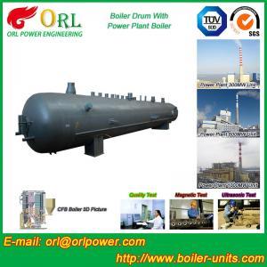 China Oil Industry Heating Boiler Mud Drum , Compact ASTM Mud Drum In Boiler wholesale