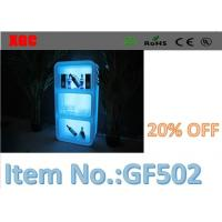 China RGB 5050 LED Cabinet Button Switch / Remote Control Ice Bucket Blue Color wholesale