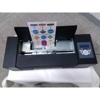 China A4 Size Paper Sticker Cutter Auto Feeding System For Food/Wine Labels Making on sale